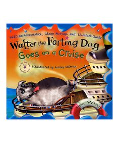 Look at this #zulilyfind! Walter the Farting Dog Goes on a Cruise Hardcover by Penguin #zulilyfinds