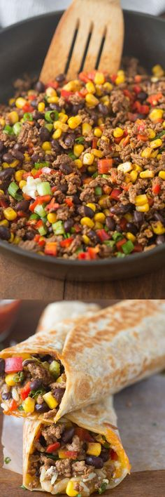 This Crispy Southwest Wrap is a delicious mix between burritos and wraps, they take less than thirty minutes.