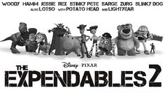Toy Story and Expendables 2 Mashup