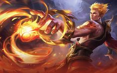 Son of Flames, Pale Flame, Shikigami Summoner, Dictator. Mobile Legend Wallpaper, Mobile Legends, Most Favorite, Fantasy Characters, Comic Art, Character Art, Anime Art, Hero, Animation