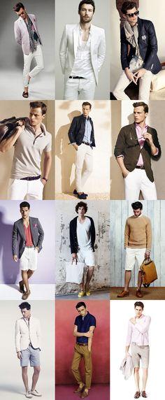 Men's Summer Prep Lookbook. A look for everyone