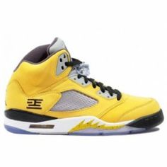 Nike Air Jordan 5 Retro 23 Tokyo VRSTY MZ ANTHRCT WLF GRY BLK $84.00 http://www.jordanpatros.com