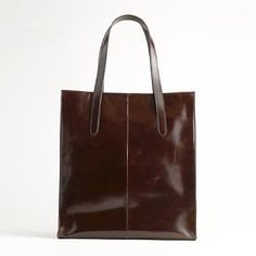 factory classic leather tote $128 #purses #accessories