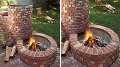 cool 10 DIY Grills You Will Love The grills are very popular and the choice of barbecue is one of the main concerns. And if this year you craft yourself? In concrete, in a container w. Garden Fire Pit, Diy Fire Pit, Fire Pit Backyard, This Old House, Diy Outdoor Kitchen, Outdoor Food, Outdoor Pallet, Backyard Seating, Backyard Landscaping