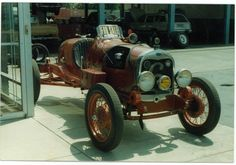 Bought from Newt Wither's Speed Shop in Pasadena and shipped to Australia. Owner would like to know its American history. Ford Models, American History, Antique Cars, Australia, Antiques, Shop, Red, Vintage Cars, Antiquities
