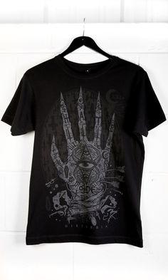 Hamsa T-Shirt #disturbiaclothing disturbia classic metal alien goth occult grunge alternative punk