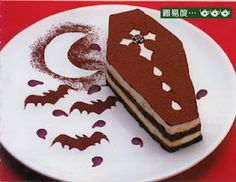 coffin cookie~ perfect for halloween. :)