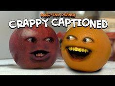 Annoying Orange - Crappy Captioned (Inspired By Rhett & Link!) - http://www.viralvideopalace.com/realannoyingorange/annoying-orange-crappy-captioned-inspired-by-rhett-link/
