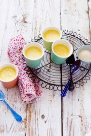 La Tartine Gourmande - petits pots de crème à la vanille