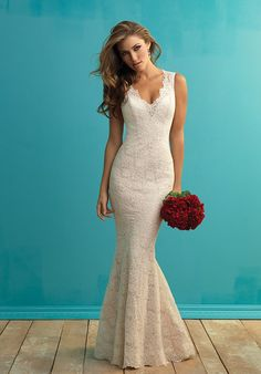 Allure Bridals -Top Pick #3 - 9253, don't like the back tho