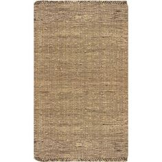 Add a pop of pattern to your living room or den with this lovely jute rug in beige.   Product: RugConstruction Mate...