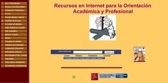 Recursos en Internet para la Orientación Académica y Profesional