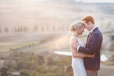 Can you even imagine hosting a wedding in Tuscany? It simply doesn't get more romantic, and this beautiful soiree captured by Amy Turner and planned to perfection by Super Tuscan Wedding Planners .