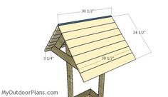 Wooden Wishing Well Plans | MyOutdoorPlans | Free Woodworking Plans and Projects, DIY Shed, Wooden Playhouse, Pergola, Bbq Diy Wooden Projects, Wood Shop Projects, Woodworking Projects Diy, Wooden Diy, Woodworking Plans, Pallet Projects, Garden Projects, Wood Pallet Planters, Diy Planters
