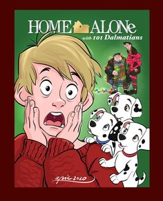 Home Alone with 101 Dalmatians