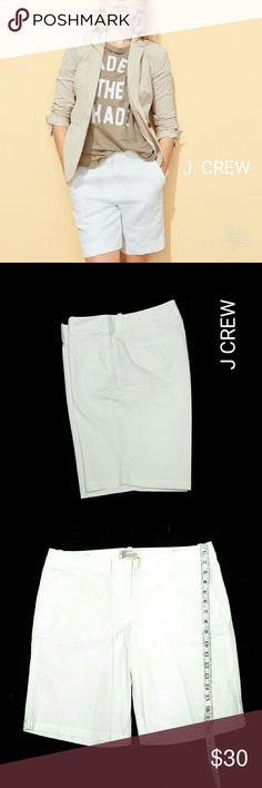 J CREW WHITE BERMUDA SHORTS J CREW WHITE BERMUDA SHORTS                                                                                                                                                 ,                       ,                  SZ 6         Pre-Loved/EUC       Image for Similarity                                                                                                                                                             See All Details and Measurements on Last…