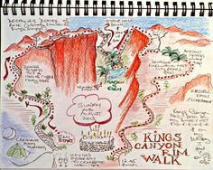 Story map travel journal with instructions