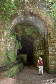 3 Magical Walks in Madeira - via Julie Dawn Fox 18.06.2015 | If you know anything about Madeira island, you've no doubt heard its a paradise for walkers. It really is. Better still, you can pick a walk that suits your fitness level... Photo: Tunnel entrance, 25 Fontes walk, Madeira