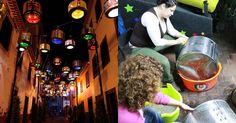 A l'occasion du festival de São Pedro, dans la ville de Câmara de Lobos, sur l'île de Madère, au Portugal, les habitants ont eux une idée géniale pour recycler d'anciens tambours de machine à laver.L'association culturelle locale, Teatro Metaphora, a donc transformé ces tambours en éclairage urbain futuriste au style steampunk.Il faut avouer que le résultat est au rendez-vous ! Style Steampunk, Occasion, Portugal, Theater, Futuristic, Urban