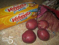 Cheesy Potato Bacon Soup 1