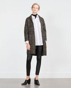 Image 1 of MID LENGTH JACKET from Zara