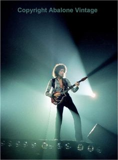 Brian May (Queen) in 1980