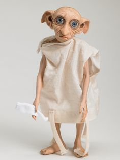 DOBBY™ | Tonner Doll Company - wish I could show my Dobby who is wearing 2 different socks and 3 hats.