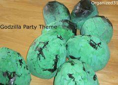 Godzilla Birthday Party - Organized 31