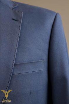 Cotton Bespoke Suit Lapel Detail