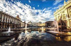 TORINO non servono altre parole!  #torinocittà #turin #ig_turin #ig_italia #italy #italia #instatorino #gopro #fotooftheday #instaday #ilovetorino #goprooftheday #instatorino #followme #followforfollow  #piazzacastello Photo by @torinotop