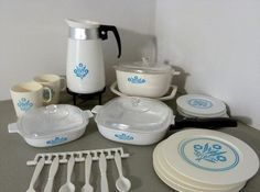 Corningware Children's Serving Set; we played with one of these in the kitchen set in Mrs. Mackey's room.