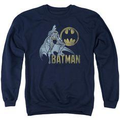 Batman - Knight Watch Adult Crewneck Sweatshirt