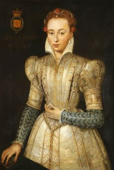 Portrait of an Unknown Lady (called 'Mary, Queen of Scots, 1542–1587') by French School (possibly)   National Trust Oil on canvas, 107 x 89 cm Collection: National Trust Knole