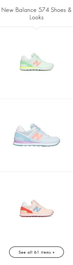 """""""New Balance 574 Shoes & Looks"""" by hollowpoint-smile ❤ liked on Polyvore…"""