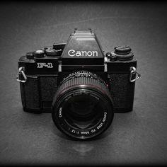 Canon F-1new 35mm SLR