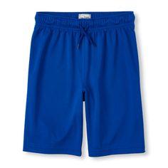 Boys Boys Knit Mesh Shorts - Blue - The Children's Place