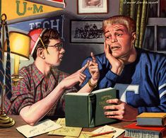 Plan59 :: 1950s Illustrators :: David Lockhart, 1952 - 1953