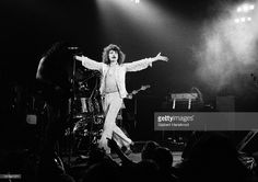 Photo d'actualité : British rock band Uriah Heep perform live on...