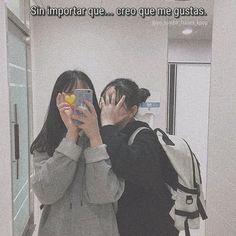 -🏳️🌈 (2/3) . . (☁️) AKI ESTA HAJAHAJ re tarde tengo la batería al 3% :))) -tata🍶 . . . 🎐°algunas frases son de doramas° . . . 🌨activa… Lgbt Love, Lesbian Love, Korean Phrases, Bts Face, Sad Girl, Quote Aesthetic, Me As A Girlfriend, Motivationalquotes, The Dreamers
