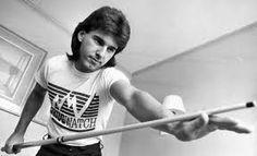 Canadian snooker player Kirk Stevens