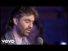 Andrea Bocelli - Con Te Partiro - Live From Piazza Dei Cavalieri, Italy / 1997 Gold Video, Ellie Goulding, Sounds Good, Video Image, Youtube, Love S, Classical Music, Music Stuff, Soundtrack