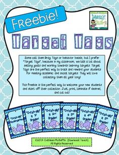 Target Tags/Brag Tags Freebie: O-Fish-ally a ____ Grader!Some call them Brag… Classroom Incentives, New Classroom, Classroom Management, Classroom Ideas, School Tool, End Of School Year, Back To School, School Stuff, O Fish Ally