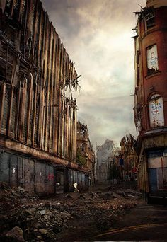 Deansgate by James Chadderton.