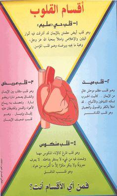 DesertRose/// اللهم اجعلنا من أصحاب القلوب البيضاء///أقسام القلوب///