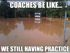 If we can't run a lap you'll swim 12 lap now get on it... Only track runners will understand