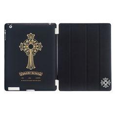 ce2d83671bd Chrome Hearts Gold Horseshoe and Cross Black iPad Case