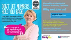 Want to improve your numeracy? Get free access to the National Numeracy Challenge in all our libraries.