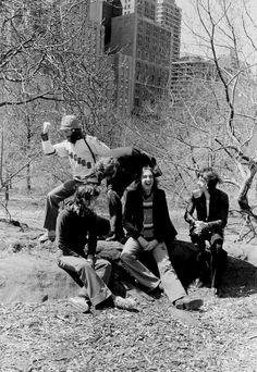 Genesis, group portrait, New York, 1976