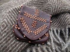 Wallet in the style of one found in Birka