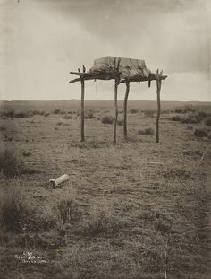 Untitled (Native American burial site) by Museum of Photographic Arts Collections, via Flickr